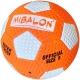 C33389-1 Мяч для пляжного футбола №5 (оранжевый), PVC 2.6, 310-320 гр., машинная сшивка
