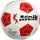 """C33394-6 Мяч футбольный №4 """"Meik-086"""" (белый) 3-слоя, TPU+PVC 3.2,  340-350 гр., машинная сшивка"""