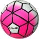 """D26074-4 Мяч футбольный """"Meik-100"""" (розовый) 4-слоя, TPU+PVC 3.2,  410-450 гр., машинная сшивка"""
