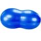 B31173-3 Мяч гимнастический фитбол арахис 45х95 см (синий)
