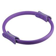 B31277-5 Кольцо эспандер для пилатеса 38 см (фиолетовое), 10017414, ОБРУЧИ