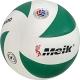 """C28680-2 Мяч волейбольный """"Meik-VXL2000"""" (бело/зеленый), PU 2.5,  280 гр, клееный,бут.кам,"""