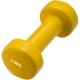 HKDB115-C2 Гантели виниловые 2,5 кг (желтая)