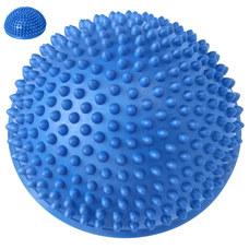C33513-1 Полусфера массажная круглая надувная (синий) (ПВХ) d-16 см