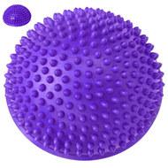 C33513-2 Полусфера массажная круглая надувная (фиолетовый) (ПВХ) d-16 см, 10017567, МЯЧИ ГИМНАСТИЧЕСКИЕ