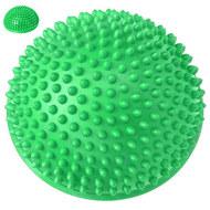 C33513-3 Полусфера массажная круглая надувная (зеленый) (ПВХ) d-16 см, 10017568, МЯЧИ ГИМНАСТИЧЕСКИЕ