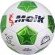 """B31314-4 Мяч футбольный """"Meik-208A"""" 2-слоя, (белый), TPU+PVC 2.7, 410-420 гр., машинная сшивка"""