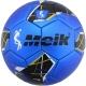 """B31318-3 Мяч футбольный """"Meik-068"""" 2-слоя, (синий), TPU+PVC 2.7, 410-420 гр., машинная сшивка"""