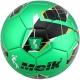 """B31318-4 Мяч футбольный """"Meik-068"""" 2-слоя, (зеленый), TPU+PVC 2.7, 410-420 гр., машинная сшивка"""
