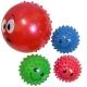 C33383 Мяч надувной с шипами d-14 см. (Mix)