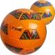 """B31323-3 Мяч футбольный """"Meik-2000C"""" 2-слоя, (оранжевый), TPU+PVC 2.7, 410-420 гр., машинная сшивка"""