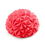 C33512-5 Полусфера массажная круглая надувная (красная) (ПВХ) d-16,5см, 10017616, МЯЧИ ГИМНАСТИЧЕСКИЕ