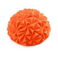 C33512-7 Полусфера массажная круглая надувная (оранжевый) (ПВХ) d-16,5см, 10017618, МЯЧИ ГИМНАСТИЧЕСКИЕ
