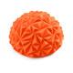 C33512-7 Полусфера массажная круглая надувная (оранжевый) (ПВХ) d-16,5см