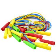 Скакалка 2,50 м. SKA-250 (Цветная) (полнотелый резиновый шнур d-4 мм., ручки пластик), 10017624, СКАКАЛКИ