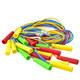 Скакалка 2,50 м. SKA-250 (Цветная) (полнотелый резиновый шнур d-4 мм., ручки пластик)