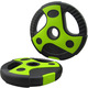 CPL-200 Диск пластиковый/цемент чёрный с зелеными вставками (d 26 мм.)   2,5 кг.
