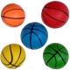 C33384-1 Мяч надувной с рисунком d-5 см. (синий)