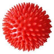 C28759 Мяч массажный (красный) твердый ПВХ 9см., 10017732, ЭСПАНДЕРЫ