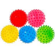 T07489 Мяч надувной с шипами d-25 см. (Mix), 10017738, МЯЧИ ГИМНАСТИЧЕСКИЕ