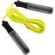 B23649 Скакалка (цвет-Желтый, ручки пластиковые, шнур ПВХ)