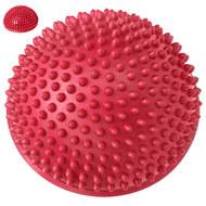 C33513-6 Полусфера массажная круглая надувная (красная) (ПВХ) d-16 см, 10017791, МЯЧИ ГИМНАСТИЧЕСКИЕ