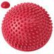 C33513-6 Полусфера массажная круглая надувная (красная) (ПВХ) d-16 см