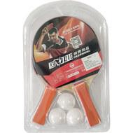 T07531 Набор для настольного тенниса (2 ракетки 3 шарика), 10017859, 08.ИГРЫ