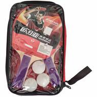 T07532 Набор для настольного тенниса (2 ракетки 3 шарика), 10017860, Ракетки и наборы