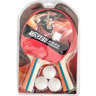 T07534 Набор для настольного тенниса (2 ракетки 3 шарика), 10017862, 08.ИГРЫ