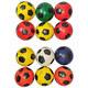 T07547 Эспандер мяч 10 см (с рисунком)