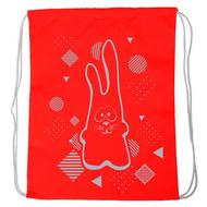 """SM-200 Мешок-рюкзак """"Rabbit"""" (красный), 10017926, 02.СУМКИ"""