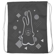 """SM-210 Мешок-рюкзак """"Rabbit"""" (черный), 10017929, 02.СУМКИ"""