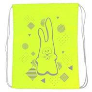 """SM-211 Мешок-рюкзак """"Rabbit"""" (салатовый Neon), 10017930, 02.СУМКИ"""