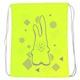 """SM-211 Мешок-рюкзак """"Rabbit"""" (салатовый Neon)"""