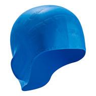 B31514-1 Шапочка для плавания силиконовая (Синий), 10017953, 12.ПЛАВАНИЕ