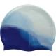 B31518-6 Шапочка для плавания силиконовая (сине/голубой)