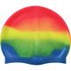 B31518-7 Шапочка для плавания силиконовая (оранж/желт/зел/голубой)