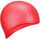 B31519-3 Шапочка для плавания силиконовая Bubble Cap (Красный)