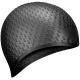 B31519-8 Шапочка для плавания силиконовая Bubble Cap (Черный)
