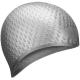 B31519-9 Шапочка для плавания силиконовая Bubble Cap (Серебро)