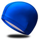 B31516-1 Шапочка для плавания ПУ одноцветная (Синий)