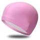 B31516-2 Шапочка для плавания ПУ одноцветная (Розовый)