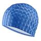B31517-1 Шапочка для плавания ПУ одноцветная 3D (Синий)