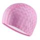 B31517-2 Шапочка для плавания ПУ одноцветная 3D (Розовый)