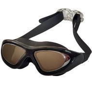 B31537-8 Очки для плавания взрослые полу-маска (Черный), 10018074, 12.ПЛАВАНИЕ