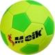 """E29212-5 Мяч футбольный """"Meik"""" детский №2 (зелено/желтый), PU 2,.7мм, 160 гр"""