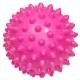 C33445 Мяч массажный (розовый) супер твердый ПВХ 6см.