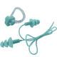 B31576 Набор для плавания беруши на шнурке и зажим для носа (голубой)