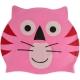 B31573 Шапочка для плавания детская силикон (розовая Пантера)